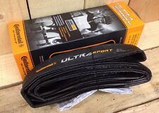 Continental Ultrasport 2 Folding Tyre 700x25c Folder Black UK seller IBD