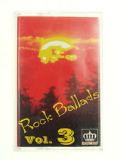 Vintage Used  Cassette Tape Rock Ballads Vol 3 Nr 6002