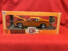 1:24 M2 Machines Detroit Muscle 1970 Ford Mustang Boss 429 Orange