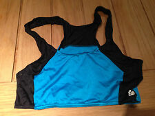 Crop top Turquoise / Black size 16  made by Rapid