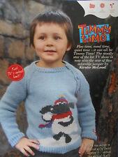 TIMMY TIME CHILD'S JUMPER knitting pattern
