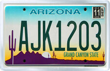 ARIZONA USA LICENSE PLATE FRIDGE MAGNET SOUVENIR IMAN NEVERA