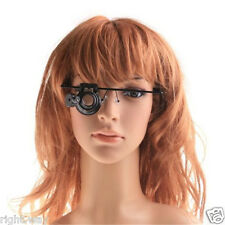 20x Eyewear Single Eye Magnifier Loupe with Headband Magnify Lamp with LED Light
