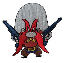 "Looney Tunes Yosemite Sam 3 "" Guns Embroidered Patch"
