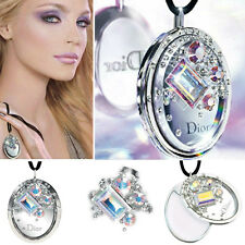 100%AUTHENTIC MOST RARE DIOR SWAROVSKI PURE CRISTAL BOREAL JEWEL Makeup Necklace