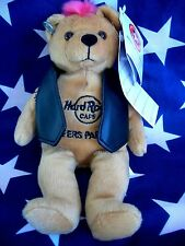 HRC Hard Rock Cafe Surfers Paradise Punk Bear Mohawk 2009 Pink Hair Herrington