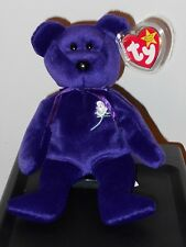 Ty Beanie Baby ~ PRINCESS (Diana) 1997 Bear (With Canadian / Canada Tags) ~ MINT