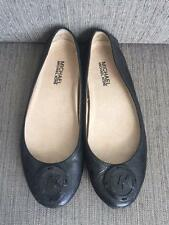 65% OFF! Auth. Michael Kors Driver Flats Patent Leather Black Sz 6.5