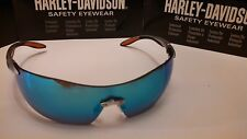 Harley Davidson Sunglasses Low Rider Blue Mirror Lens + Free cord & Wiping cloth