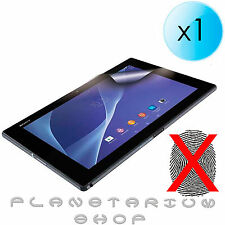 1x PROTECTOR AUS BILDSCHIRM MATT ANTI-FINGERABDRUCK PA SONY XPERIA Z2 TABLET