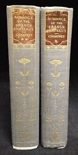 1899 Elizabeth W. Champney 2 Volume Set Romance of the French Chateaux