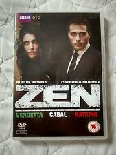 Zen: Vendetta - Cabal - Ratking (2-Disc DVD) Rufus Sewell, Nr Perfect Condition