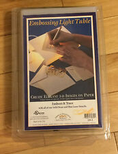 "9"" X 5"" Embossing & Tracing Light Table wi Stylus-Accessories Sold Separately"
