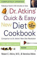 Dr. Atkins' Quick & Easy New Diet Cookbook: Companion to Dr. Atkins' New Diet Re