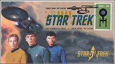 2016, Star Trek, 50 years, Digital Color Postmark, 16-257