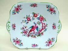 Jackson & Gosling Grosvenor China Exotic Bird of Paradise Pattern Sandwich Plate