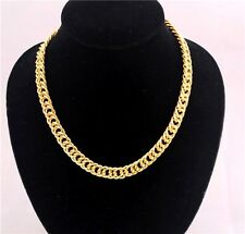 New Desing Fashion Gold Plated Metal Chunky Link Chain Choker Necklace Top