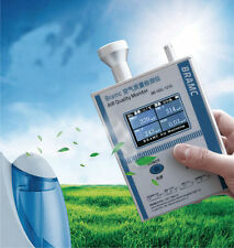 Air Quality Monitor Formaldehyde detector PM 2.5 10 indoor Air testing equipment