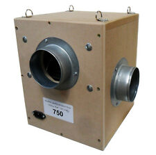 wooden box fan 125mm 750m3
