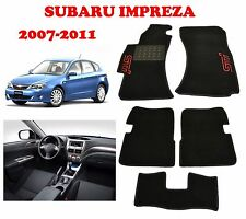 Subaru IMPREZA 2007-2011 Fully Tailored Premium Carpeted Car Floor Mats STI WRX