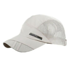 Men Cool Quick-drying Summer Outdoor Sport Running Baseball Mesh Hat Visor Cap