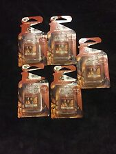 Yankee Candle Ultimate Car Jar Air Freshener Lot of 5 Leather NEW NEW NEW!