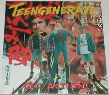 TEENGENERATE 'Get Action LP guitar wolf jet boys Shonen Knife King Brothers PUNK