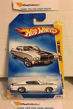 '70 Buick GSX #7 * WHITE * 2009 Hot Wheels * H44
