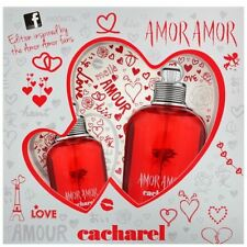 Cacharel Amor Edt Spray 100ml Conjunto de Regalo Nuevo