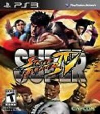Super Street Fighter IV 4 USED SEALED (Sony Playstation 3) PS PS3 Free Shipping
