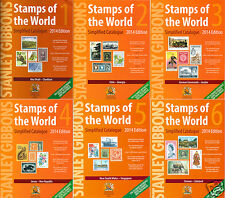 Stanley Gibbons 2014 Stamp Catalog Catalogue Worldwide All Countries 3 DVDs