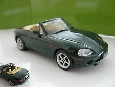 1/43 Mazda Roadster MX5 1.8 L (2001) diecast (RHD) British racing green