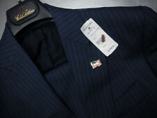 Brooks Brothers Blue SaxXon Wool Suit 36S - Milano Fit $1298 NWT USA