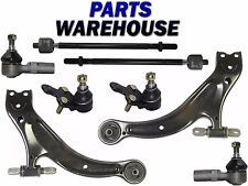 8 Pc Front Lower Control Arm w/Ball Joints Tie Rods Toyota Avalon Solara Sienna