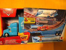 DISNEY Pixar Cars King DINOCO Hauler CAMION TRUCK Story riproduzione per Natale