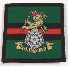 NEW - The Yorkshire Regiment Velcro TRF Badge Patch for UBACS, Smocks or Shirts