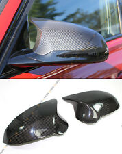 FOR 2015-2017 BMW F82 M4 PERFORMANCE STYLE CARBON FIBER SIDE MIRROR COVER CAPS