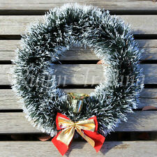 Christmas Tree Wreath Garland Tinsel Ornaments Door Decor Decoration XMAS SALE