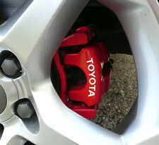 Toyota Brake Caliper Decals Stickers Auris Aygo Yaris Avensis Corolla GT86