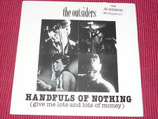 "The Outsiders  ‎– Handfuls Of Nothing   Indie Twee C86  7""  NEAR MINT"