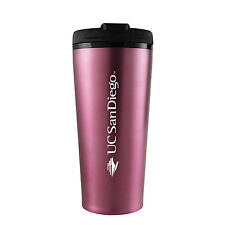 University of California, San Diego-16 oz. Travel Mug Tumbler-Pink