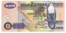 BANK OF ZAMBIA ONE HUNDRED KWACHA 2003  FDS  UNCIRCULATED  (7)