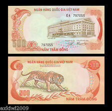 South Vietnam 500 Dong 1972 P-33 aUNC About Uncirculated Banknotes