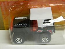 Vintage MATCHBOX MB 20 - 1981 4x4 JEEP LAREDO Cut Card Black 1/59 Scale Macao: