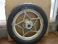 SUZUKI GSX 750 / 1100  ET /EX / KATANA    REAR WHEEL AND TYRE.