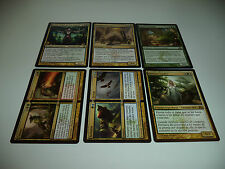 Cromos de magic x6, different sets all rares in very nice condition. 2