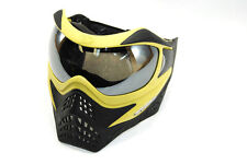 VForce Grill Paintball Goggle Mask Clear Thermal lens Yellow on Black SE