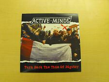 "ACTIVE MINDS - ""Turn Back The Tide Of Bigotry"" LP. Political HC punk."
