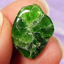 Rare small polished piece of Chrome Diopside crystal 2g SN21275