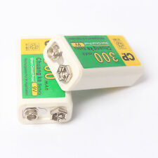 Lot of 2 Pcs 300mAh 9V Batteries BTY NI-MH Rechargeable Battery Set